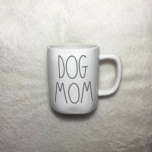 Rae Dunn LL Dog Mom Ceramic Mug NWT NEW
